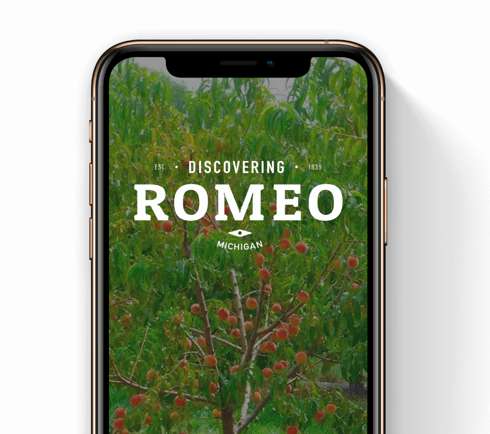 Discovering Romeo mobile app